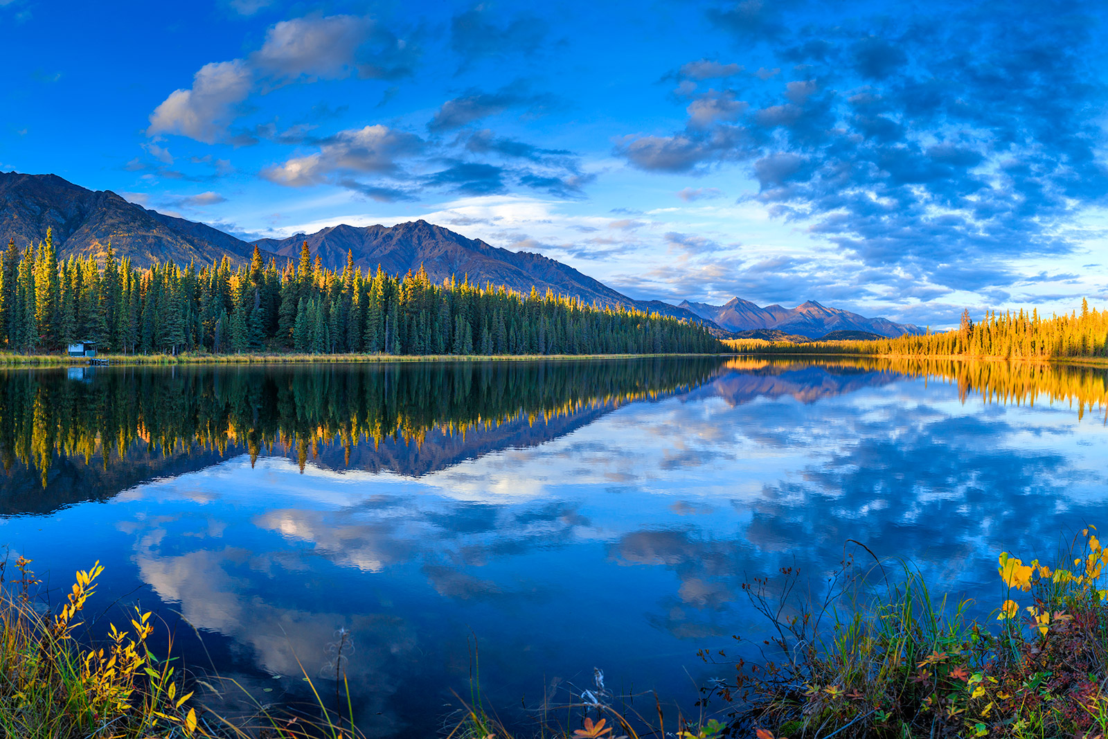 Alaska lake pictures art